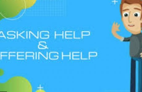 asking and offering for help
