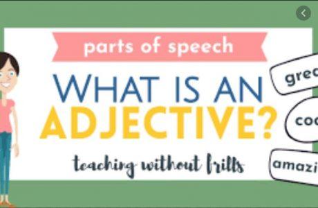 jenis adjective bahasa inggris