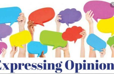 materi expressing opinion kelas 8 smp