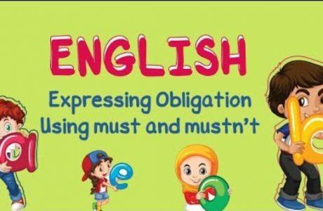materi obligations bahasa inggris