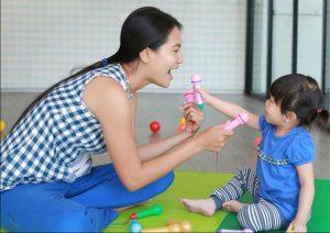 teknik melatih bicara anak