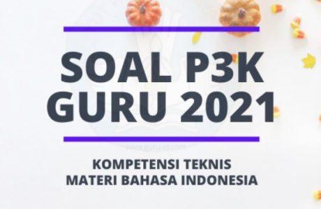 ringkasan materi tes pppk bahasa indonesia tahun 2021