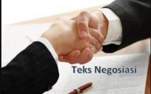 cara menulis teks negosiasi, contoh teks negosiasi, cara menulis dan contoh teks negosiasi