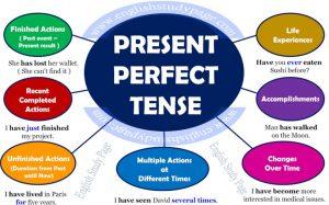 materi dan contoh soal present perfect tense